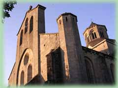 Picture of the Abbey church of Aubazine